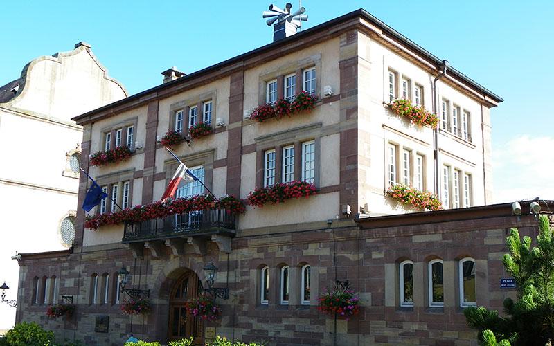 Hotel de ville à Wasselonne
