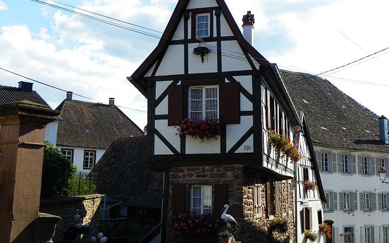 Des maisons typiques