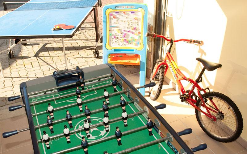 Salle de jeux, , gîte en Alsace près de Strasbourg